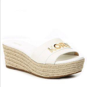 Michael Kors Brady Platform Sandals Size 7.5